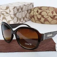 COACH Women Casual Sun Shades Eyeglasses Glasses Sunglasses