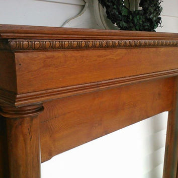 1810 Fireplace Mantle..Vintage/Holiday/Shabby Love