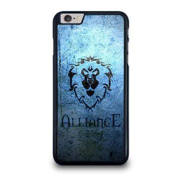 world of warcraft alliance wow iphone 6 6s plus case cover  number 1