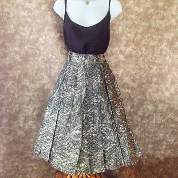 50s circle skirt / mexican skirt