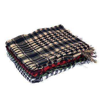 Military Men Scarves Shemagh Arab Tactical Desert Army Shemagh KeffIyeh Scarf b139