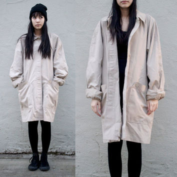 London Fog Khaki Tan Trench Coat