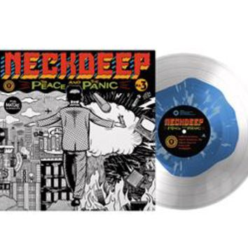 The Peace & The Panic Blue Inside Clear W/ Clear Splatter : HLR0 : MerchNOW - Your Favorite Band Merch, Music and More