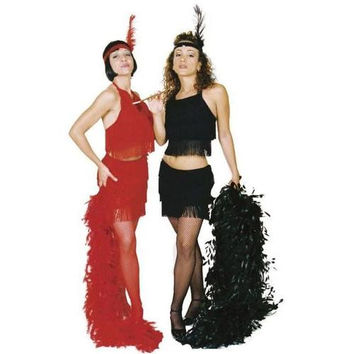 Women's Costume: Sexy Flapper - Red | Large