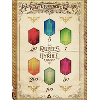 Legend of Zelda Tingle's Ring of Rupees of by barrettbiggers