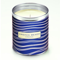 Kate Nelligan Navy Blue Ripples Candle