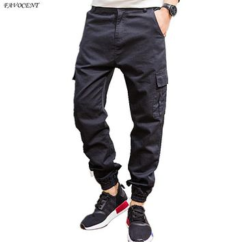 Military Regular Mid Time-limited  2017 Spring And Summer Men's Casual Pants Feet Beam Japanese Harem Hot Sale Free Shipping
