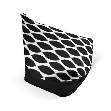 Tear Drop Beanbag Chair - Ikat Drops Choose Your Colors