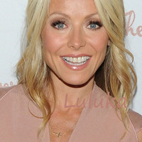 SALE - --- Kelly Ripa Celebrity Sideways Cross Necklace