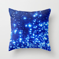 NATURAL SPARKLE 2 Throw Pillow by catspaws