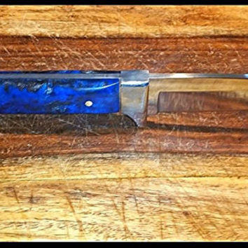 Handmade US Fixed Blade Knife Fish Marbles Buck Survival Tactical Bowie