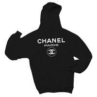 Chanel Paris Hooded Sweatshirt