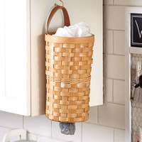 Plastic Bag Dispenser Baskets