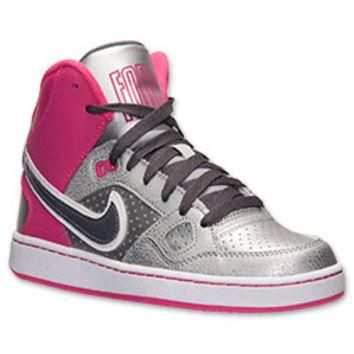 Girls' Grade School Nike Son of Force Mid Casual Shoes
