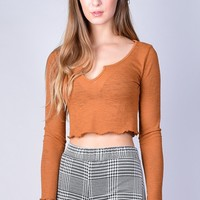 Just Like Honey Thermal Top