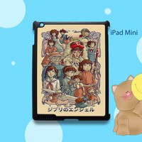 Ghibli's Angels Spirited Away Case For iPad Air, iPad 2, iPad3, iPad 4 and iPad Mini