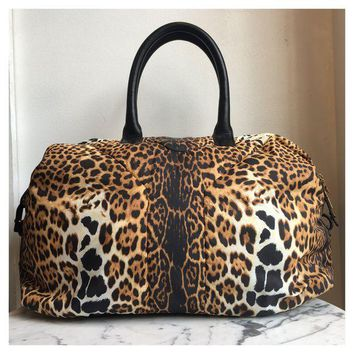 DCCKG2C Saint Laurent Leopard Shoulder Bag