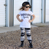 Squad goals graphic children's Tshirt. Sizes 2T, 3t, 4t, 5/6T funny graphic kids shirt, squad goals kids shirt