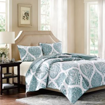 Harbor House™ Ogee Paisley Coverlet