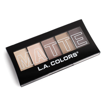 L.A. Colors 5 Color Matte Eyeshadow
