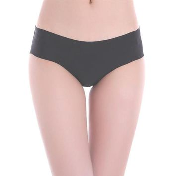 Women Invisible Underwear Thong Cotton Spandex Gas Seamless Crotch Sexy& Casual Natural panties sexy lingerie sexy panties