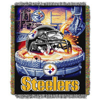 Pittsburgh Steelers NFL Woven Tapestry Throw (Home Field Advantage) (48x60)