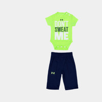Boys' Newborn UA Don't Sweat Me 2-Piece Set | 1247700 | Under Armour US