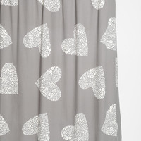 Plum & Bow Sweetheart Shower Curtain