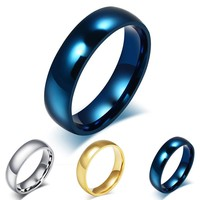 Men's Classic Titanium Steel Wedding Band - 3 Colors