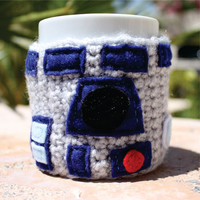 R2D2 R2 D2 Inspired Coffee Mug Tea Cup Cozy