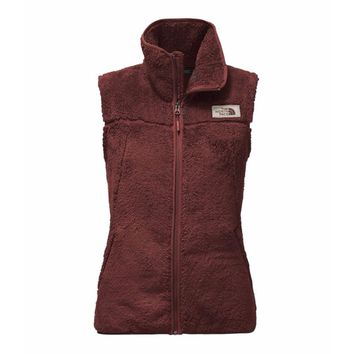 Women's Campshire Sherpa Vest in Sequoia Red by The North Face