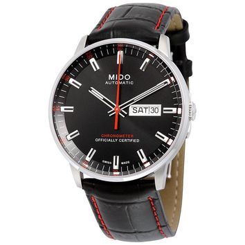 Mido Commander II Automatic Black Dial Mens Watch M0214311605100