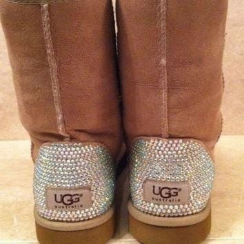DCCK8X2 Swarovski Crystal Embellished Classic Tall UGG Boots - Winter/Holiday 2013