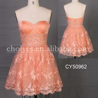 CY50962 Latest Dress Designs Sweetheart off the shoulder Knee Length Cocktail Dress Lace Wedding Dresses, View knee length cocktail dress, Choiyes | knee length cocktail dress Product Details from Chaozhou Choiyes Evening Dress Co., Ltd. on Alibaba.com