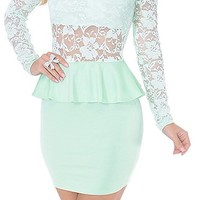 Super Special (Mint)-Great Glam is the web's best online shop for trendy club styles, fashionable party dresses and dress wear, super hot clubbing clothing, stylish going out shirts, partying clothes, super cute and sexy club fashions, halter and tube top