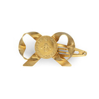 Gucci Metal bow hair clips