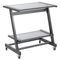 Eurostyle Zeus Computer Cart W/O Keyboard Tray (Multiple Colors)