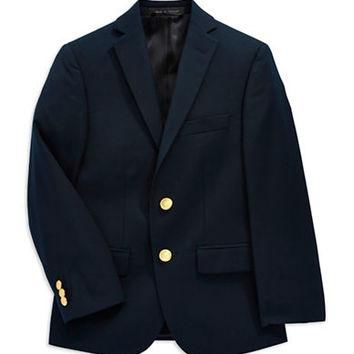 Ralph Lauren Childrenswear Two-Button Blazer