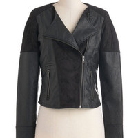 Jack by BB Dakota One Coal Cat Jacket | Mod Retro Vintage Jackets | ModCloth.com