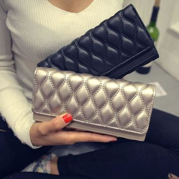 Jinqiaoer Leather Bubble Clutches