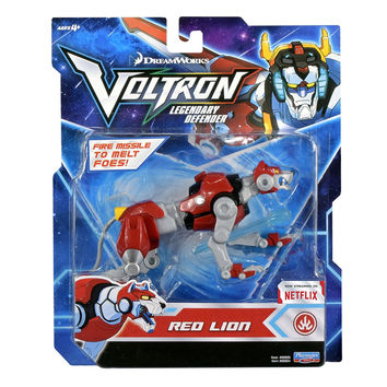 "Voltron Legendary Defender (2017) Red Lion 5.5"" Basic Action Figure"