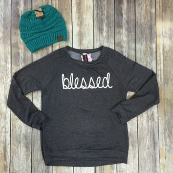 The blessed sweatshirt