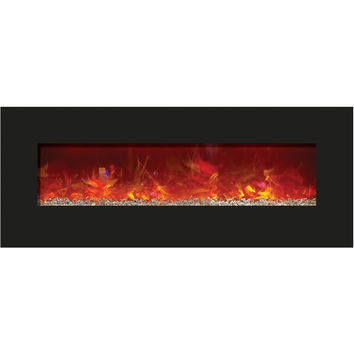 Amantii Built-in / Wall Mounted Electric Fireplace (Enhanced, WM‐BI‐48‐5823)