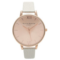 **OLIVIA BURTON BIG ROSE GOLD WATCH