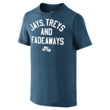 "Nike Air ""Jays, Treys and Fadeaways"" Boys' T-Shirt"