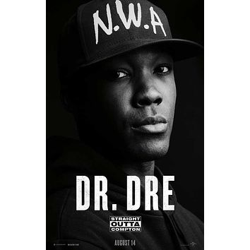 Straight Outta Compton 27x40 Movie Poster (2015)