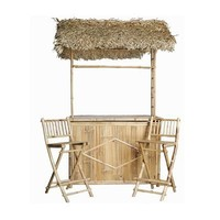 Bamboo 54 5456 Outdoor Bar Set  - Outdoor Living Showroom