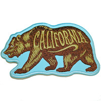 California Bear Patch by Tim Ward