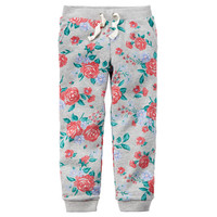 Floral French Terry Joggers