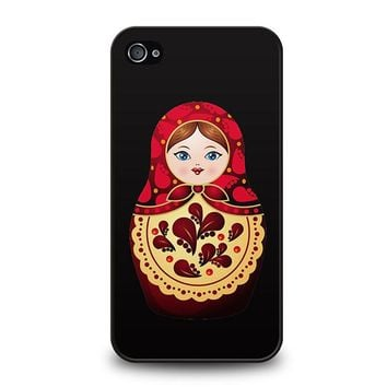 MATRYOSHKA RUSSIAN NESTING DOLLS iPhone 4 / 4S Case Cover